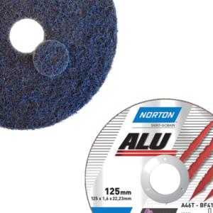 Materiały ścierne do szlifowania i cięcia aluminium