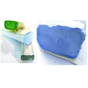 pasta polerska niebieska