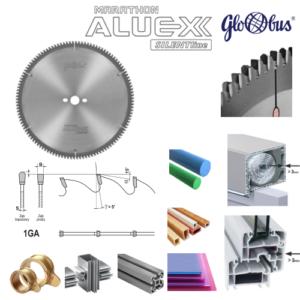 Piły tarczowe do aluminium Aluex Marathon dodatni kąt natarcia