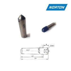 obciągacz diamentowy 0,5ct stożek Morse 1